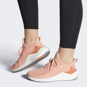 Adidas Alphaboost Semi Coral Running Shoes Sneaker